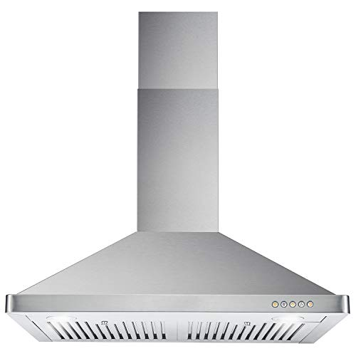 top best rated wall mount range hood reviews cosmo