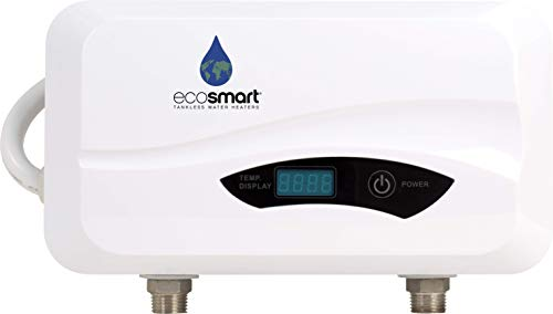 ecosmart electric point of use tankless water heater