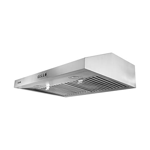 top best rated under cabinet range hood reviews vesta