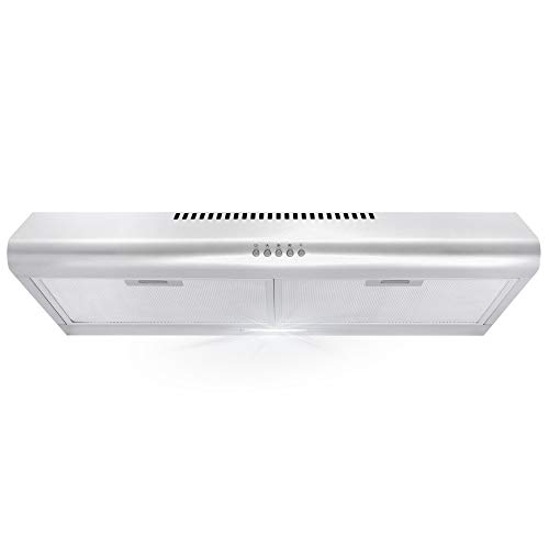 top best rated under cabinet range hood reviews cosmo