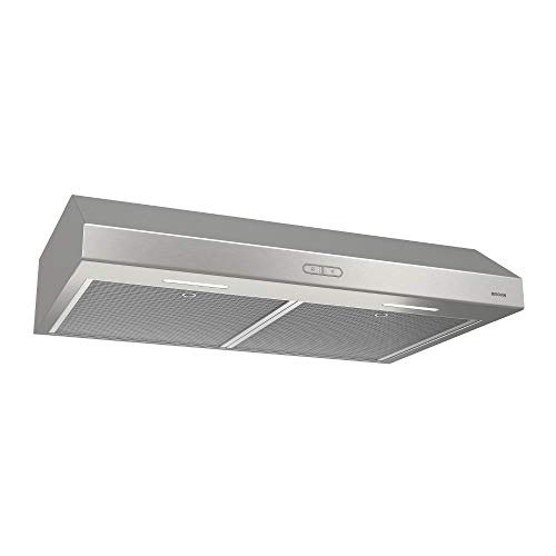 top best rated under cabinet range hood reviews broan-nutone