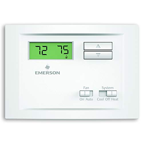 top best rated nonprogrammable thermostat emerson