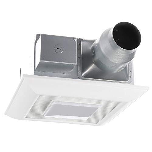 panasonic whisperfit bathroom exhaust fan with led light