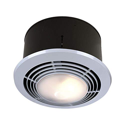 broan-nutone heater and light combo bathroom exhaust fan