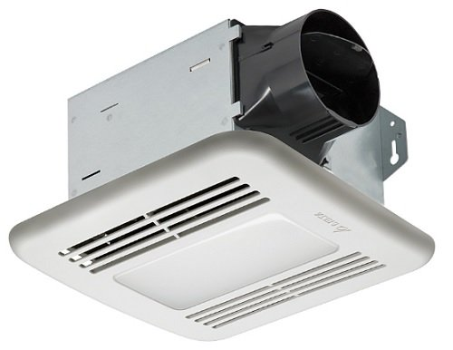 delta breezintegrity itg80led bathroom exhaust fan with light