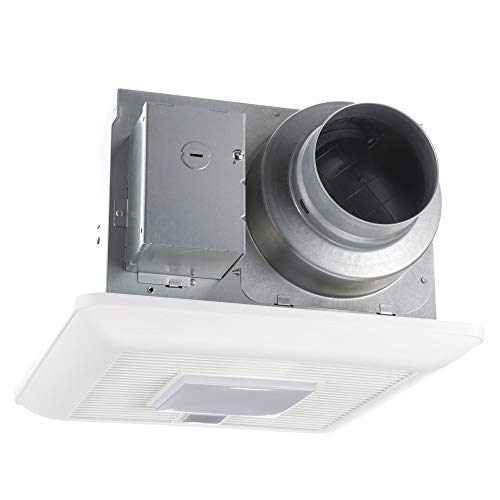 panasonic bathroom fan with humidity sensor and light  whispersense