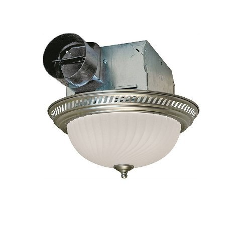air king decorative bathroom exhaust fan with light