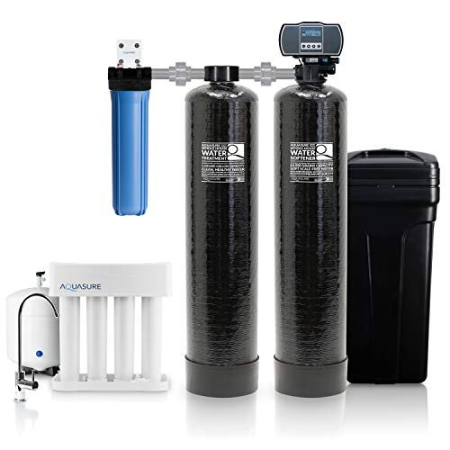 top best rated whole house water filter and softener combo reviews aquasure