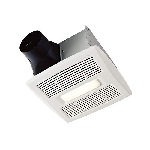 top best rated bathroom exhaust fan with led light broan-nutone