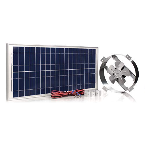top best rated gable attic fan reviews amtrak solar