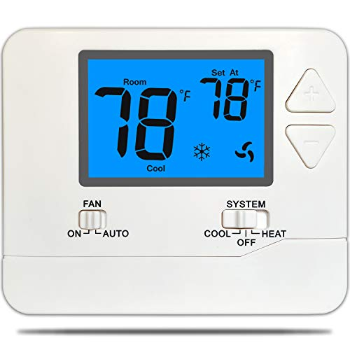 top best rated nonprogrammable thermostat suuwer