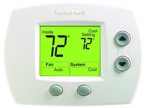 top best rated nonprogrammable thermostat honeywell