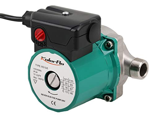 kolerflo best hot water recirculation pump