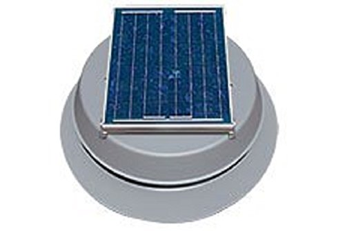 top best rated natural light solar attic fan 25-year warranty