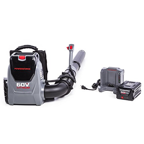 top best rated battery backpack blower reviews powerworks