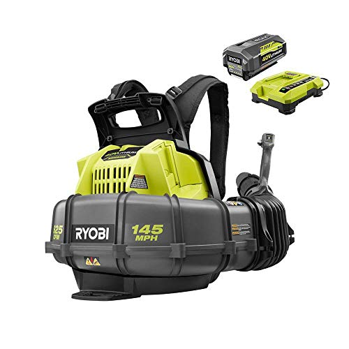 top best rated battery backpack blower reviews ryobi