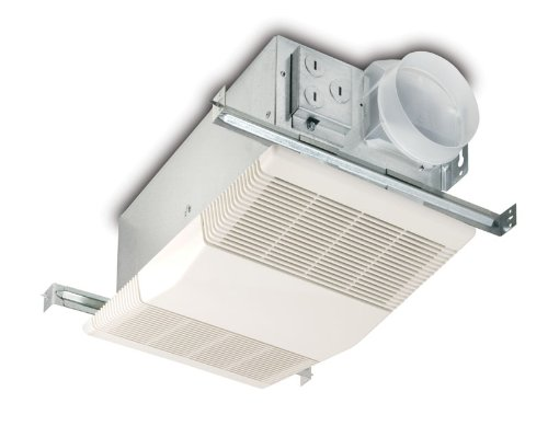 broan-nutone bathroom exhaust fan with heater