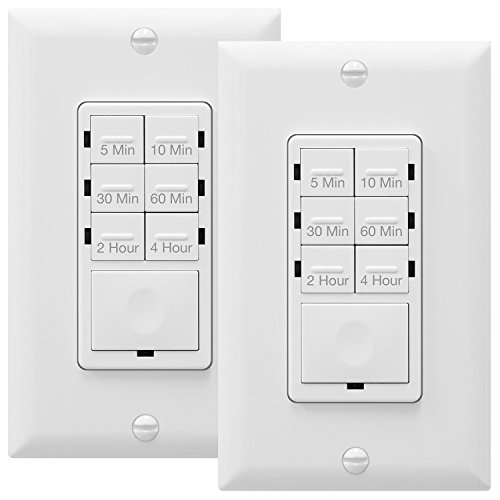 Top 5 Best Bathroom Fan Timer Switches 2021 Review Home Inspector Secrets