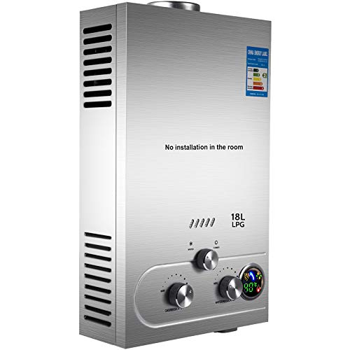 top best rated tankless propane water heater reviews happybuy 18L
