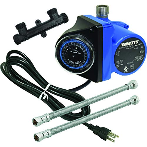 watts 500800 best hot water recirculation pump