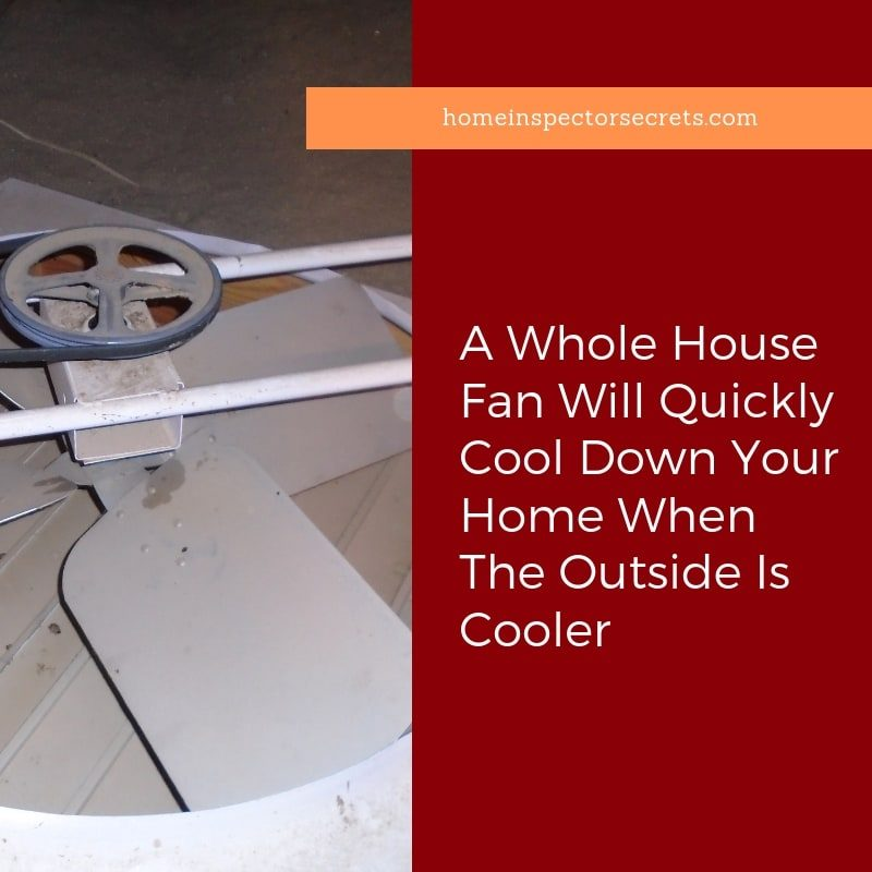 how does a whole house fan work