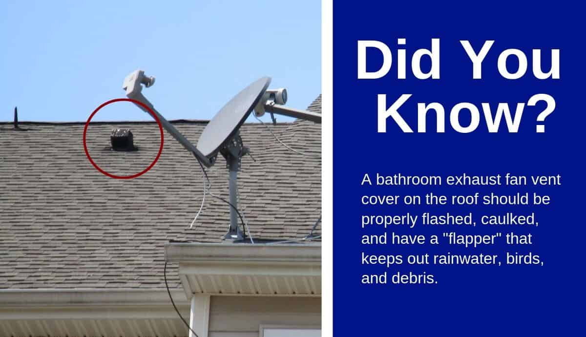 bathroom exhaust fan vent cover should keep out rain
