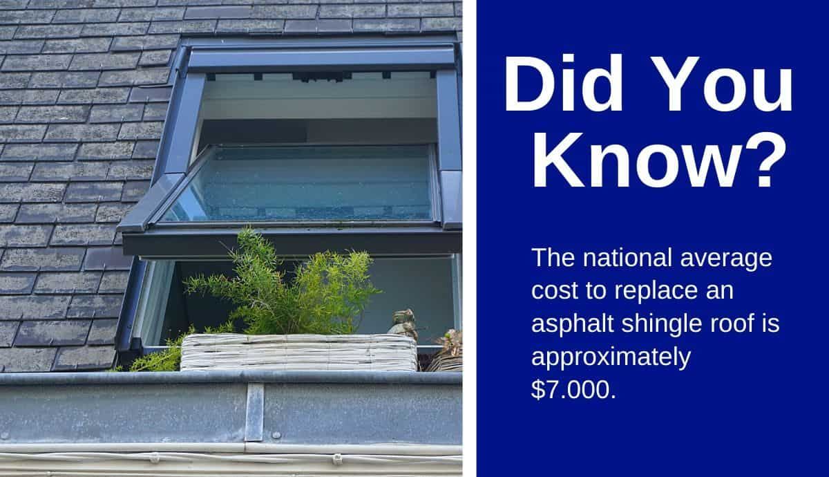 average cost to replace roof
