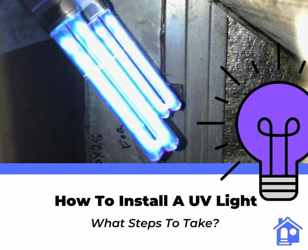 how to install uv light for hvac