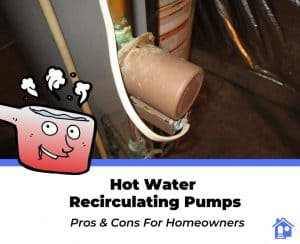 pros and cons of hot water recirculation pumps