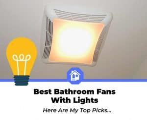 best bathroom exhaust fans with lights