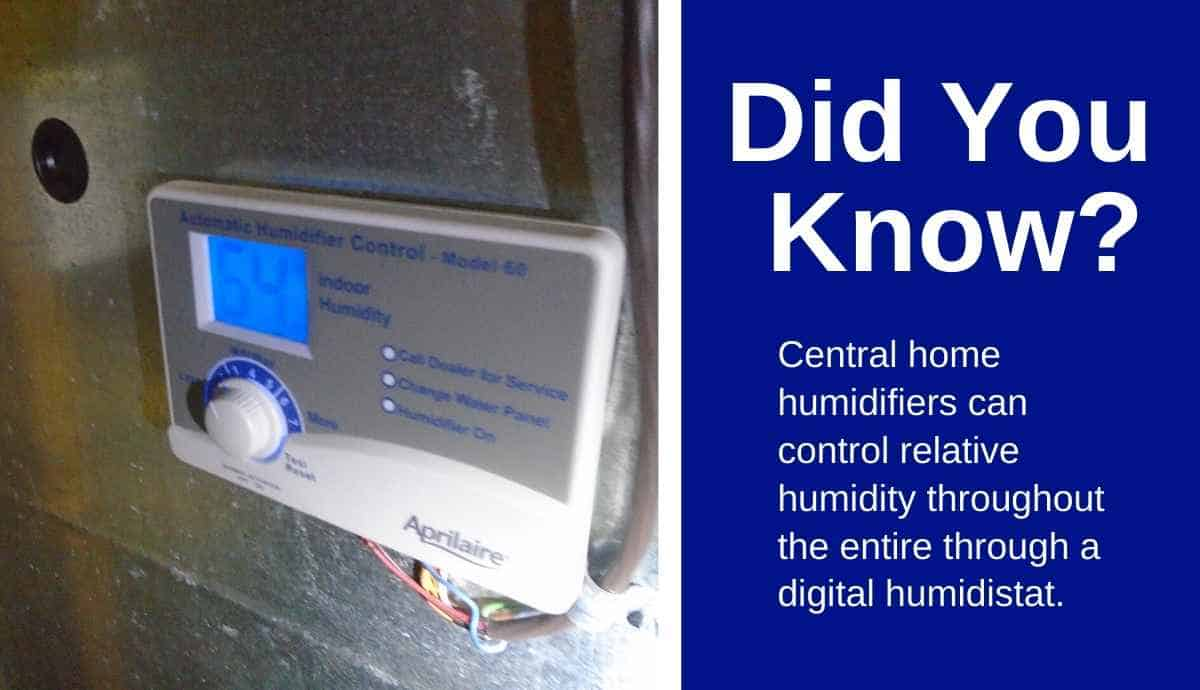 best whole house humidifiers use digital control