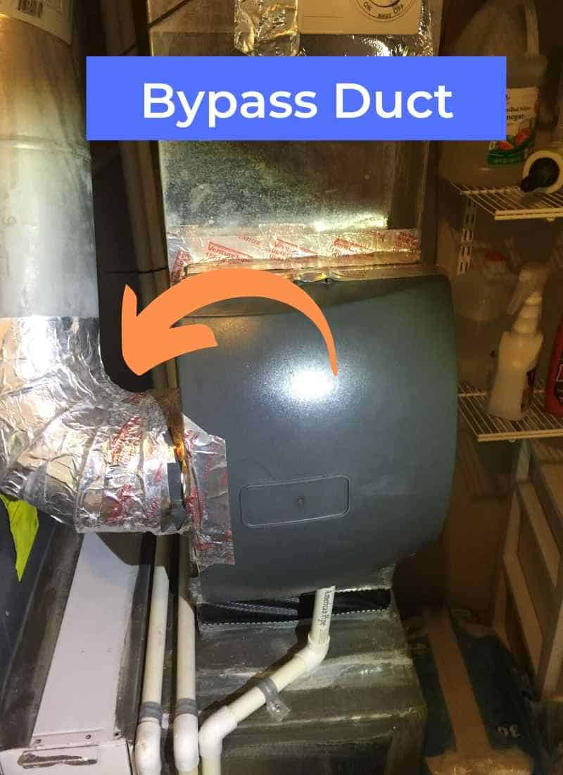 bypass whole house humidifier