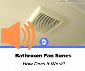 bathroom fan sones