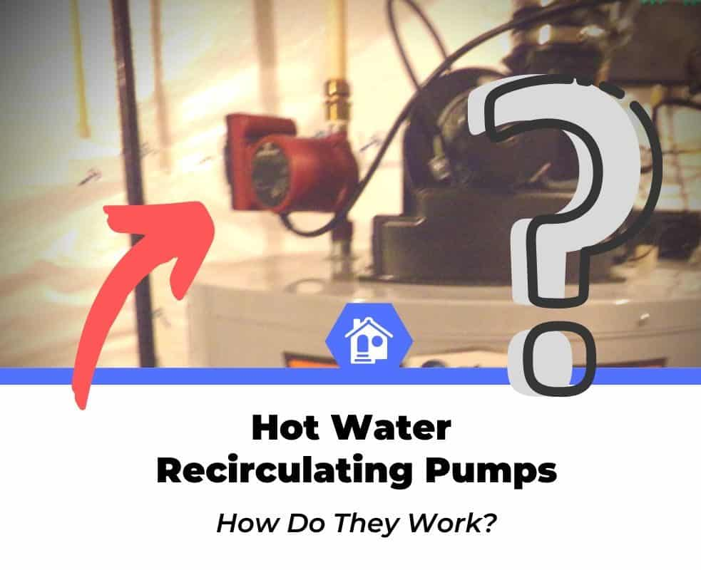 how does a hot water recirculating pump work