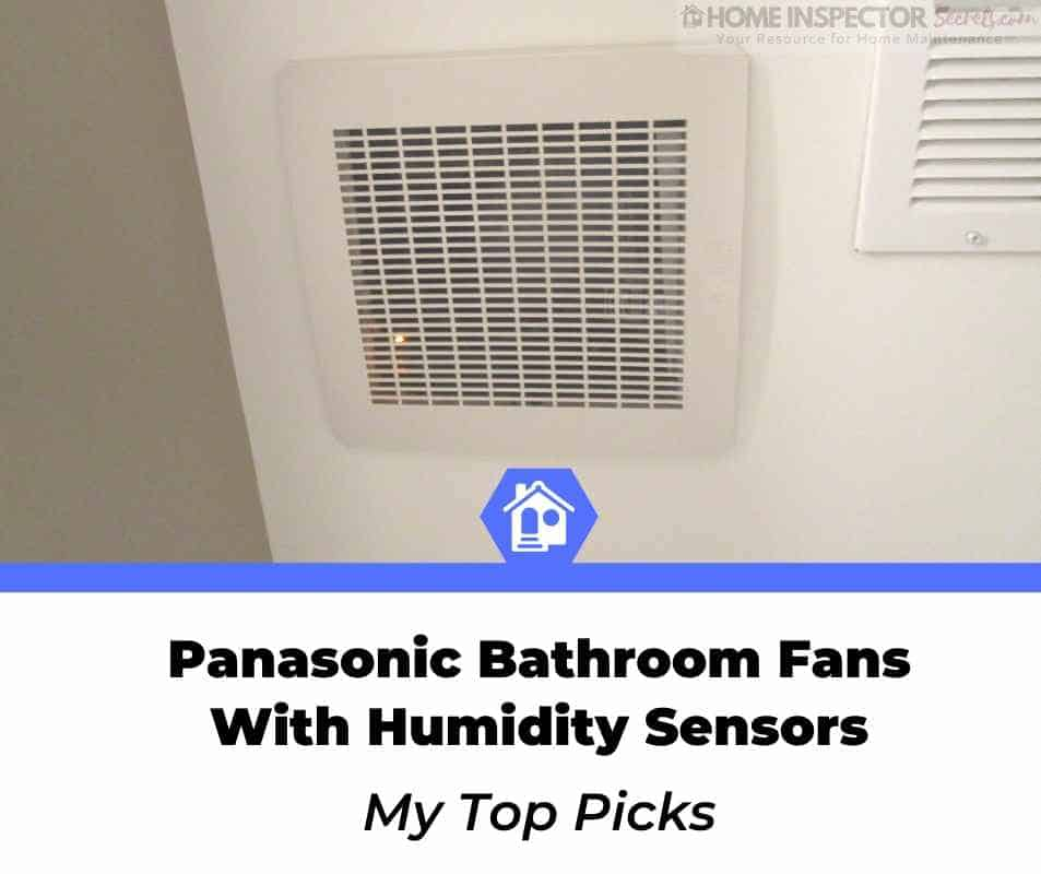panasonic bathroom fan with humidity sensor