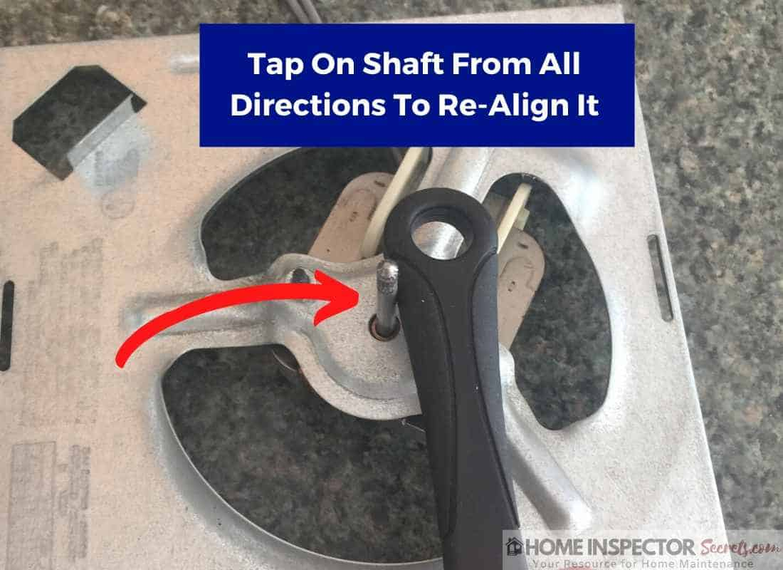how to oil a bathroom exhaust fan (re-align shaft) (3)
