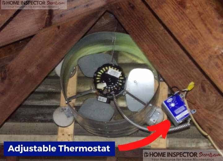 top best rated gable attic fan reviews (adjustable thermostat)