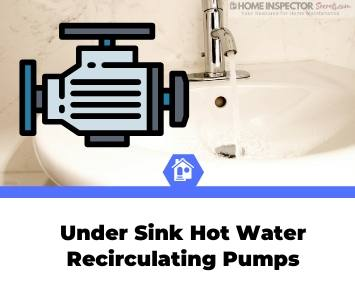under sink hot water recirculating pump