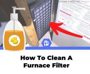 how to clean ac furnace filter