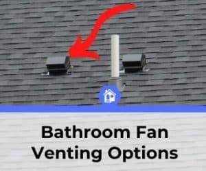 bathroom fan venting options