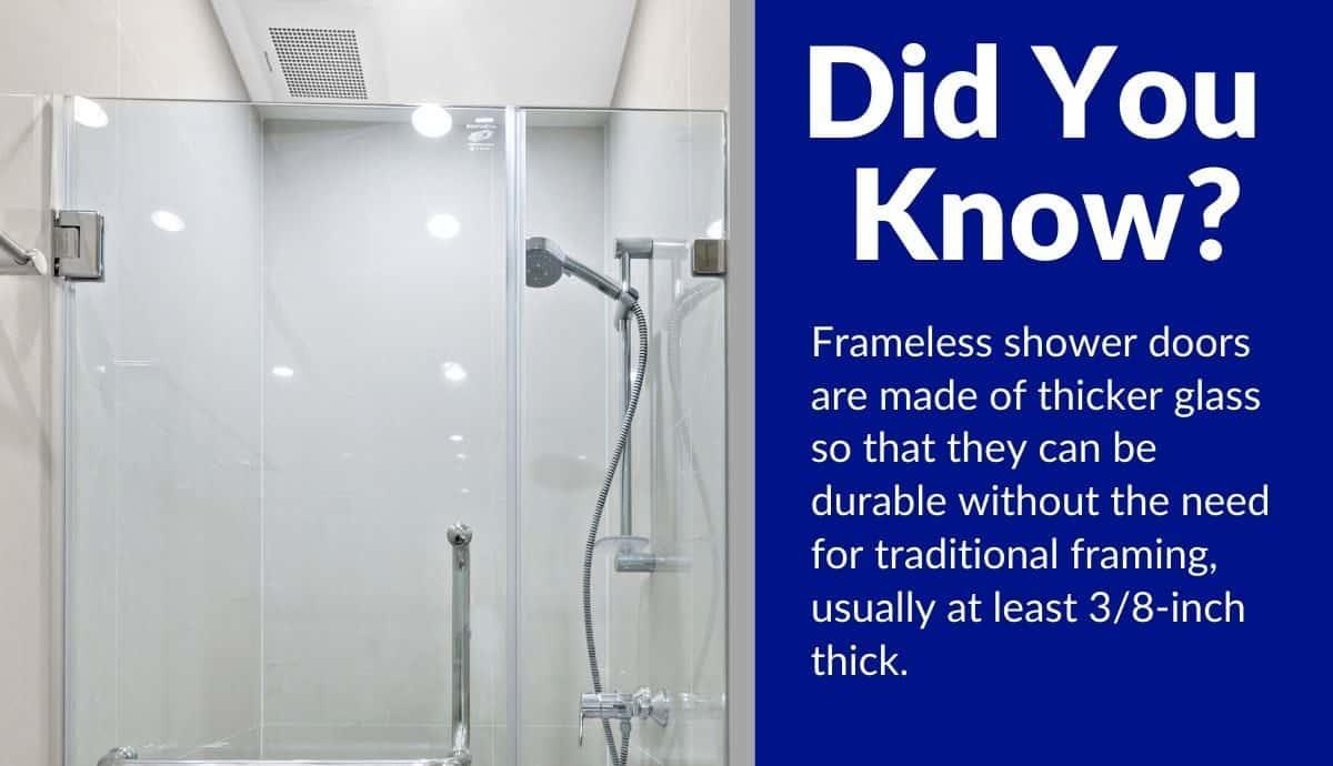 top best rated frameless shower door reviews
