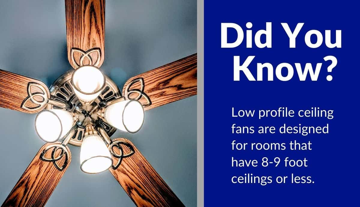 top best rated low profile ceiling fans reviews