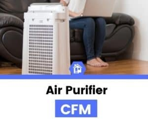 air purifier CFM