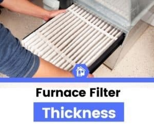 does furnace filter thickness matter