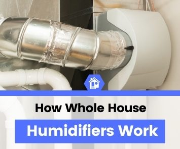 how does a whole house humidifier work