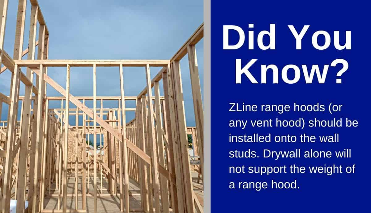 z line range hood installation instructions guide