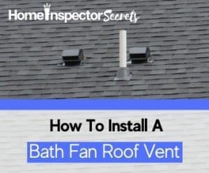 how to install a bathroom fan roof vent (3)