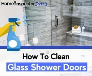how to clean glass shower door guide